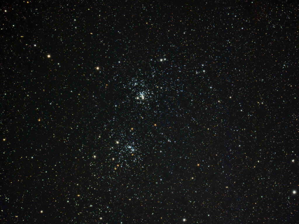 NGC 869, Double Cluster