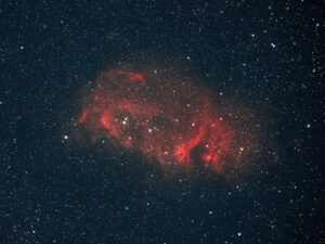Sharpless 2-199 Soul Nebula